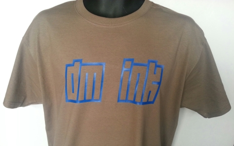DM Ink T-Shirt - Light Brown