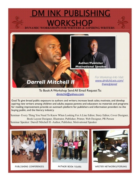 DM Ink Publishing LLC Workshop